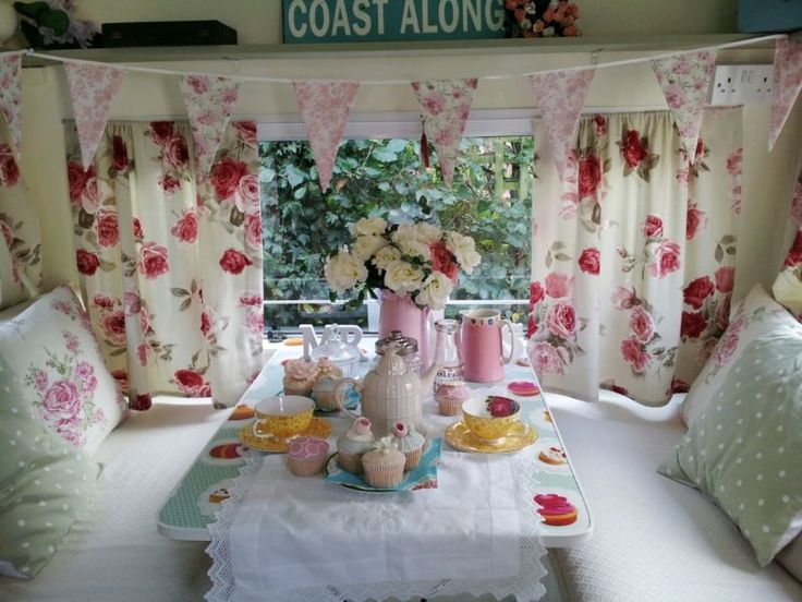 Ideas story board to inspire me for my own vintage caravan
