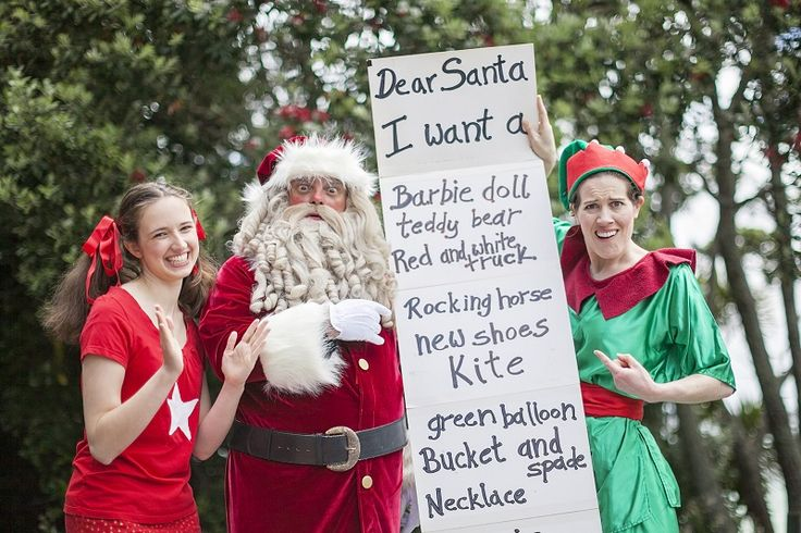 The Santa Claus Show, Tim Bray Productions, Pumphouse Theatre, Takapuna, Auckland, New Zealand, 2015