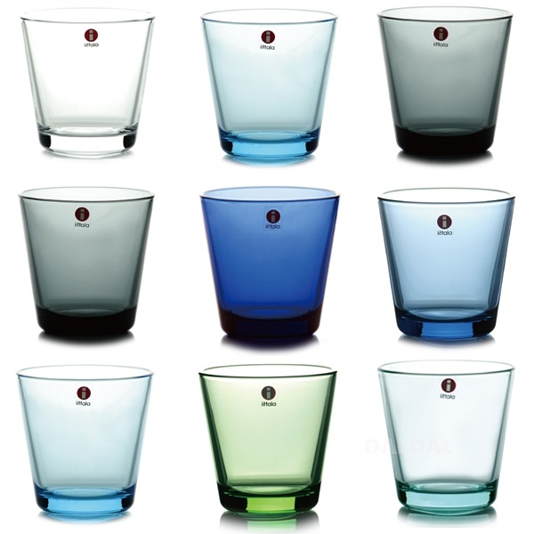My Iittala Kartio glasses come in many shades. I like it that way.