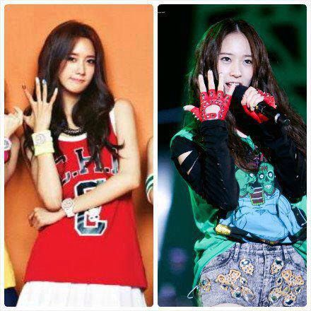14 best images about Yoona and Krystal on Pinterest ... F(x) Krystal And Yoona