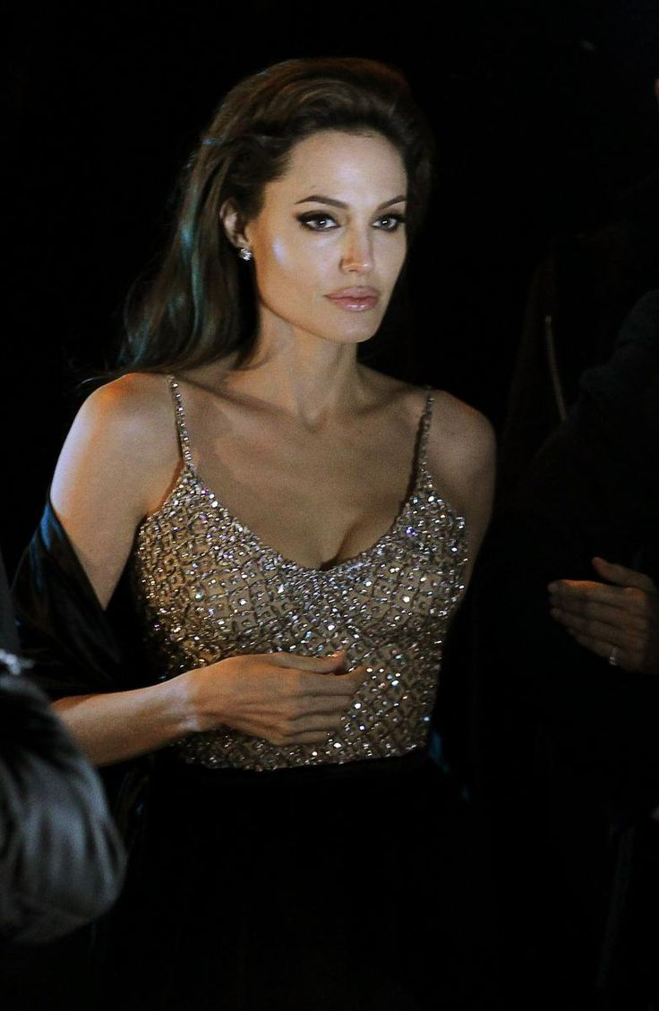 The Unintentional Art in Celebrity Candids: Angelina Jolie in Madrid at the premiere of THE TOURIST in December 2010