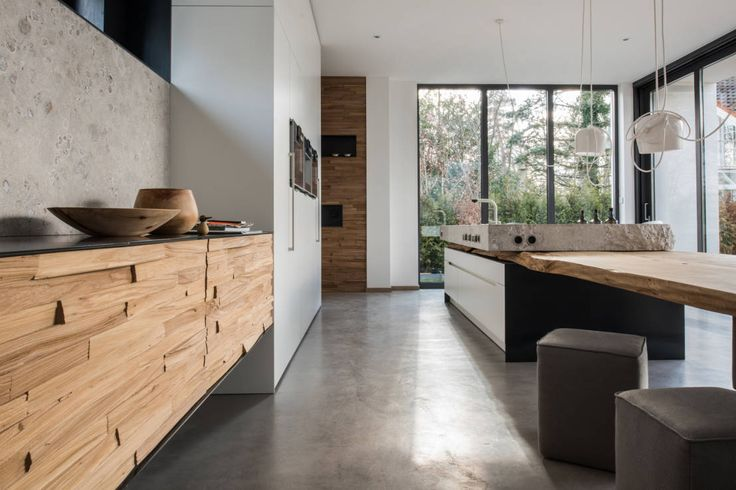 die neue natürlichkeit in der küche von werkhaus - Küche Architektur