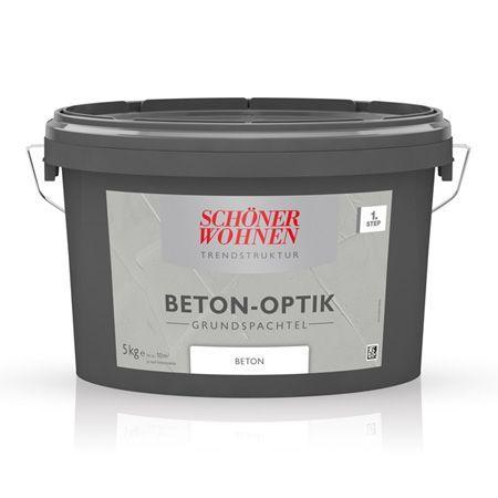 Beton-Optik Grundspachtel