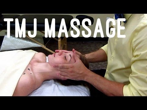 Massage Tutorial: Myofascial Release for TMJ pain