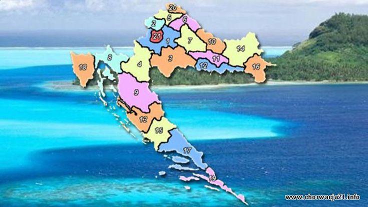 Regiony Więcej informacji o Chorwacji pod adresem http://www.chorwacja24.info/regiony