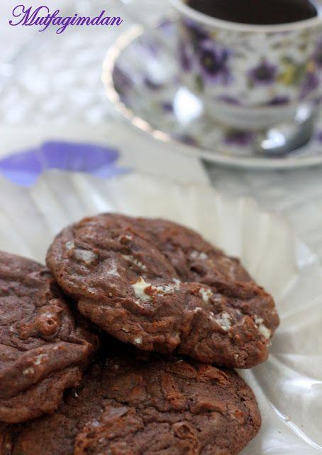 Mutfağımdan: Naneli Bol Cikolatali Kurabiyeler