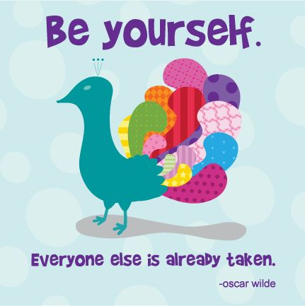 Always Be Yourself, No Matter What :) #inspiringkids #quotes
