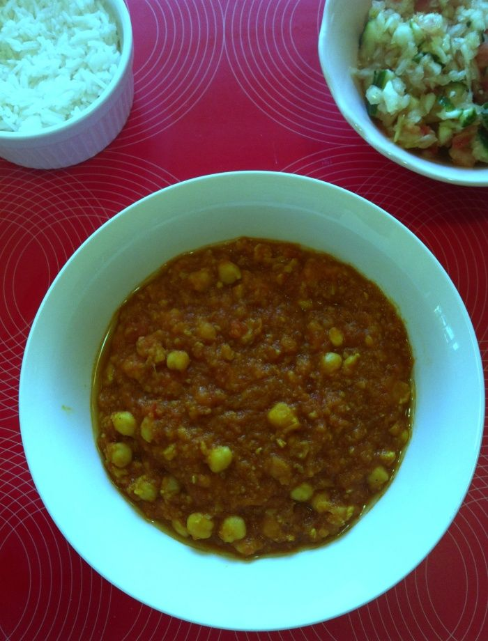 Thermomix Chickpea Curry