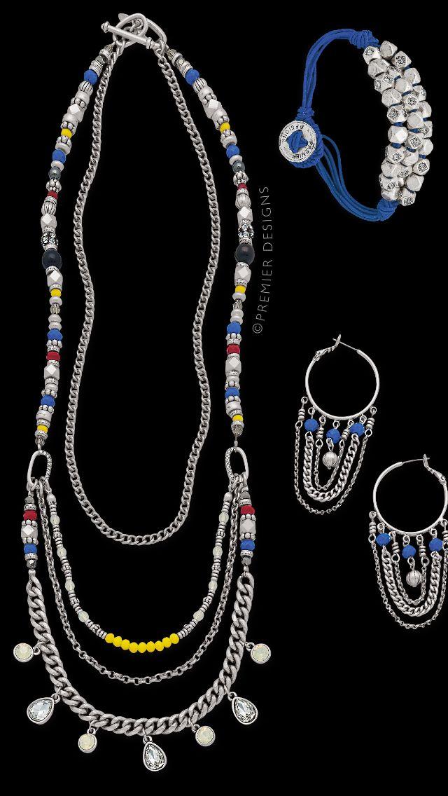 Jess necklace earrings sutton bracelet premier designs for Terry pool design jewelry