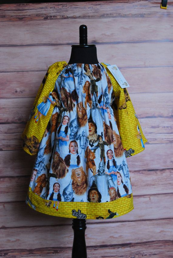 Girls peasant boho dress Wizard of Oz dress by LittleDivasnDudes, $25.00