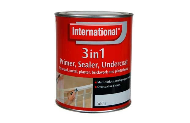 International 3-in-1 Primer, Sealer, and Undercoat Paint - 250ml