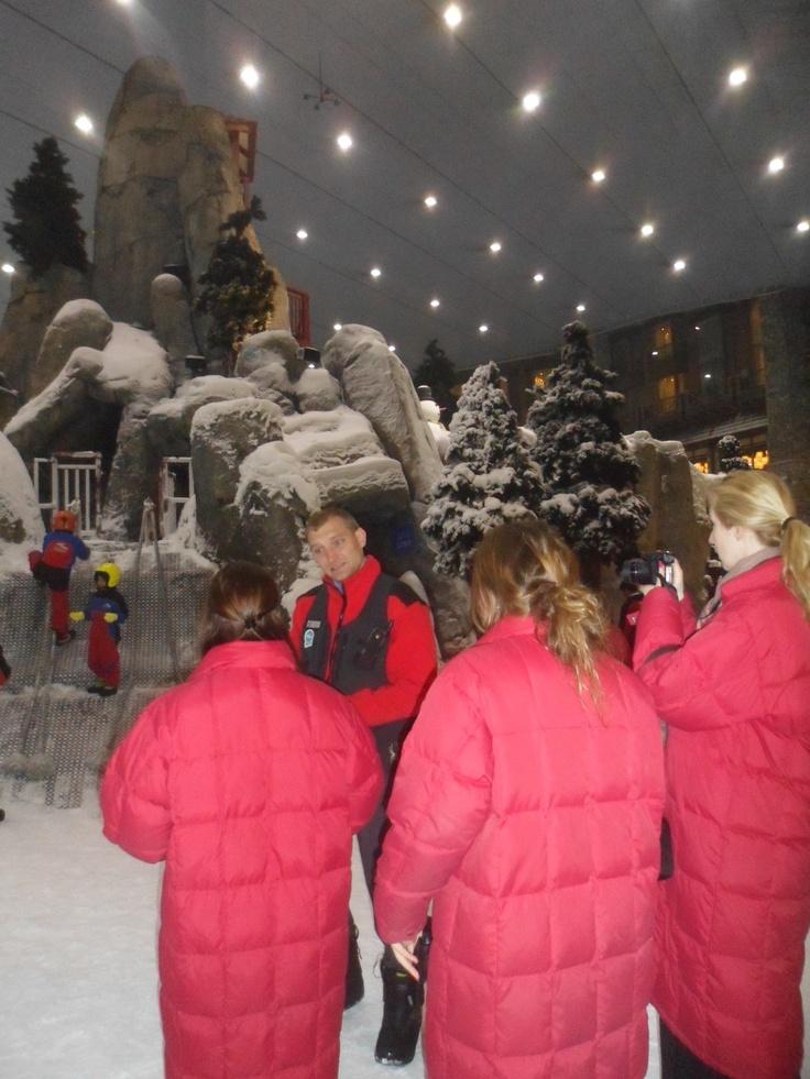 Een rondleiding door Ski Dubai gegeven door de manager #NHTV #3MTT