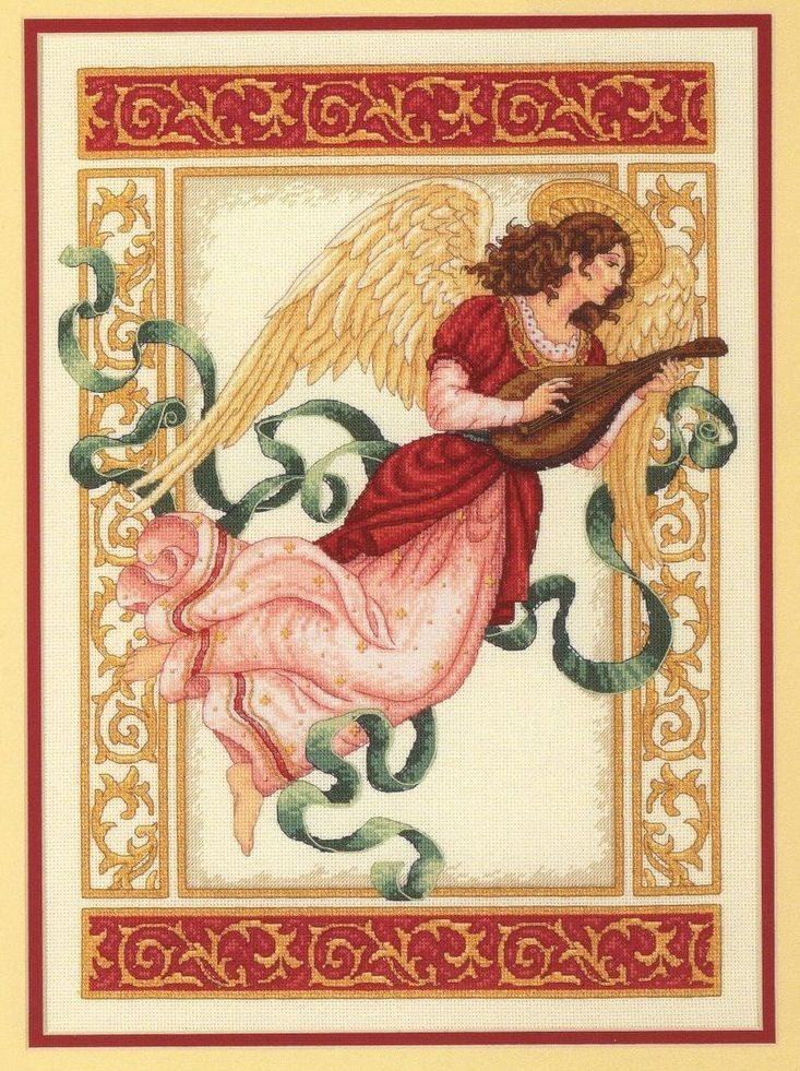 ANGEL WITH A VIOLA