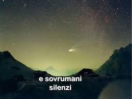 sovrumani silenzi ... Giacomo Leopardi - Infinito