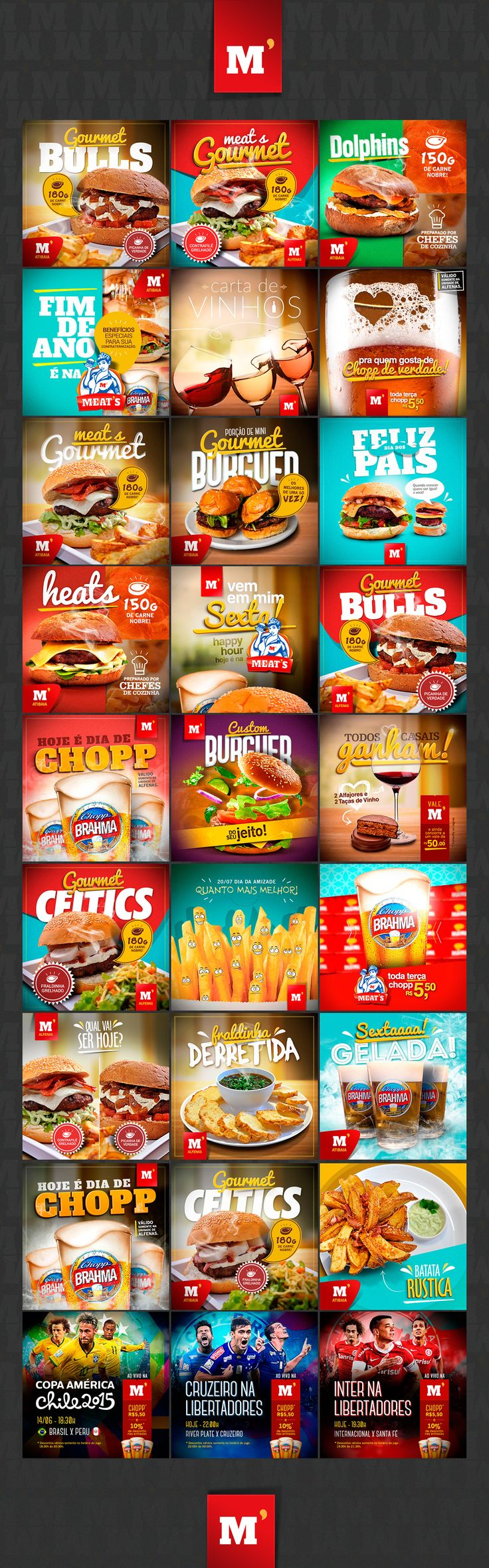 Meats Hamburgueria on Behance