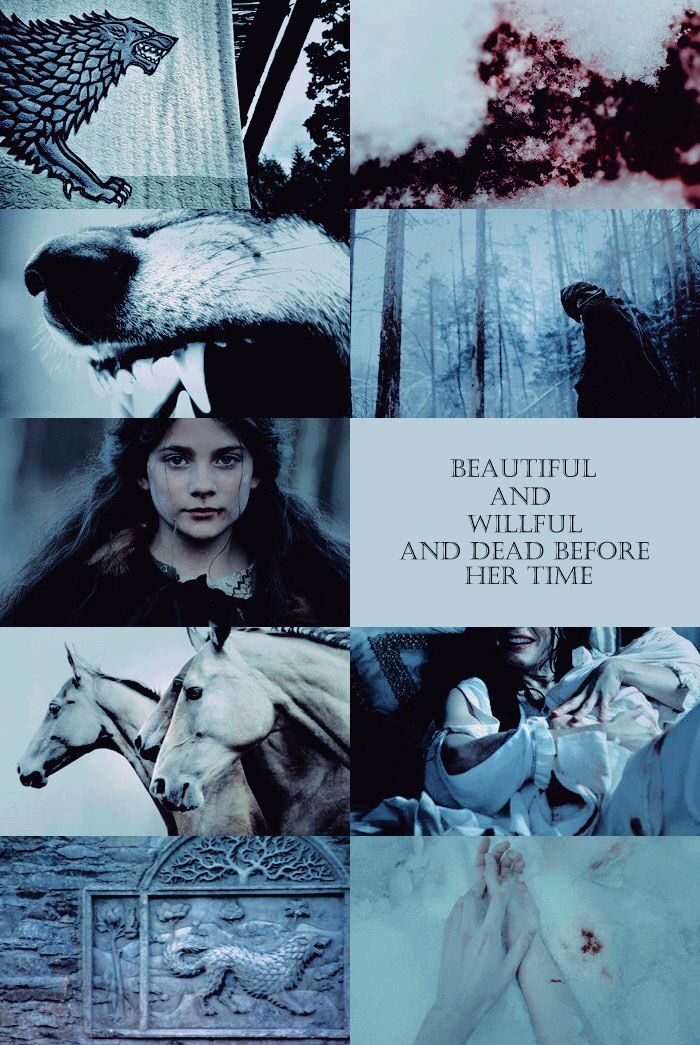 North Winterfell Wolf Lyanna Stark