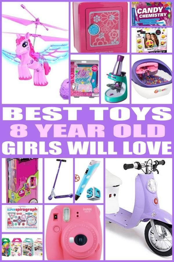 Best Toys for 8 Year Old Girls   Christmas Party Tips   Pinterest ...