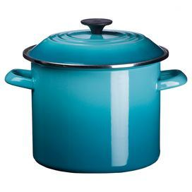 Le Creuset 8-Quart Stock Pot in Caribbean