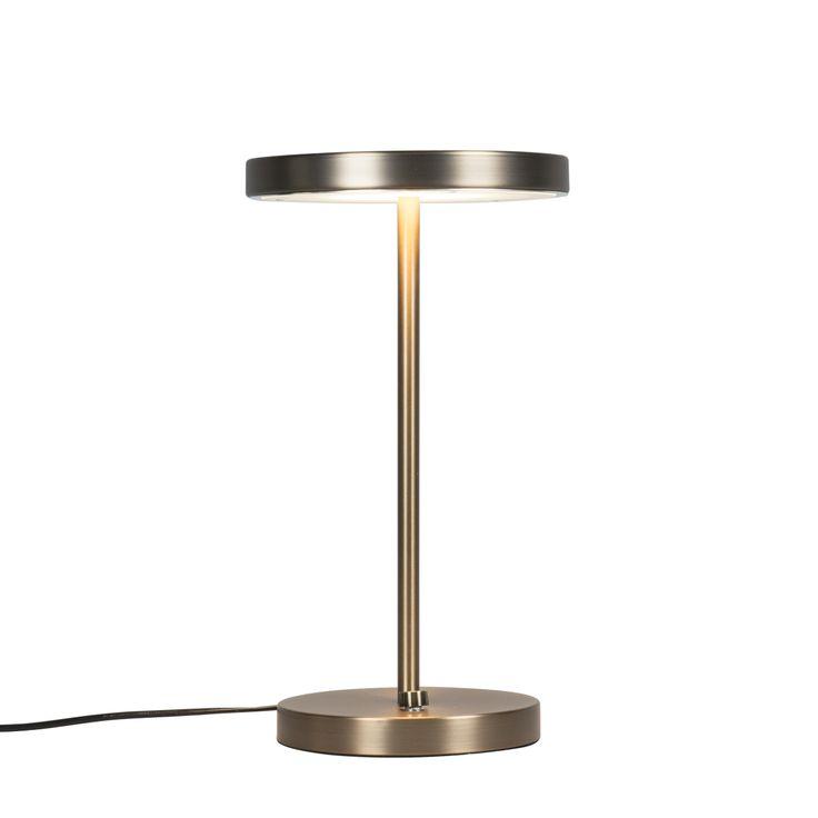 Tischleuchte Disco bronze Jetzt bestellen unter: https://moebel.ladendirekt.de/lampen/tischleuchten/beistelltischlampen/?uid=52526608-d1ed-5379-9928-00cbe2b0c39a&utm_source=pinterest&utm_medium=pin&utm_campaign=boards #lampen #tischleuchten #modern #beistelltischlampen Bild Quelle: www.lampenundleuchten.de