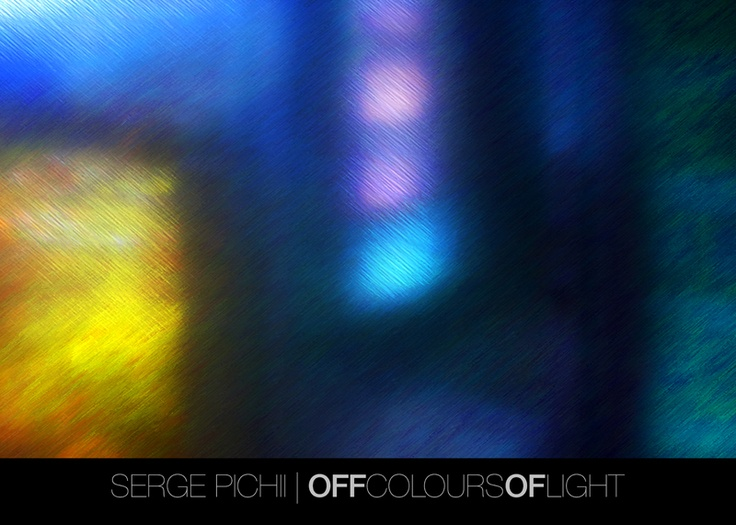 Serge Pichii | Photography: Off colours of light