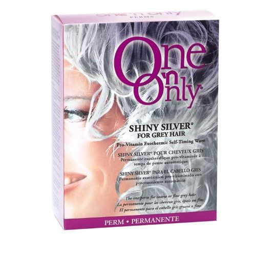 One N Only Shiny Silver Perm Kit
