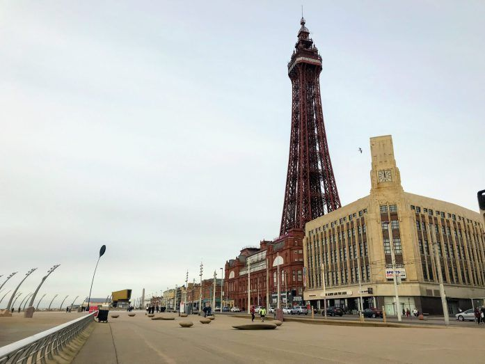 Escape Manchester by hopping on a train to Blackpool for the day or a Micro Holiday! Take the Northern Rail Trail to explore the prom, see the sights and learn a bit more about the historic buildings.  Oh and catch some street art, sea views and grab some chips too! | The Urban Wanderer | Sarah Irving | Manchester based Travel and Outdoor Blogger