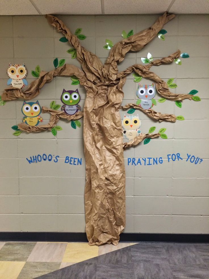 The Passionate Preschool Teacher: September - Owls are the teachers and the leaves are the students.