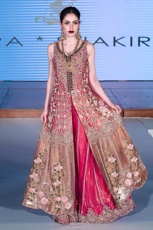 SAIRA SHAKIRA BRIDAL COLLECTION | SEEKING PARADISE PAKISTAN FASHION WEEK LONDON, Saira Shakira 'Seeking Paradise' F/W Bridal Couture, Images SAIRA SHAKIRA