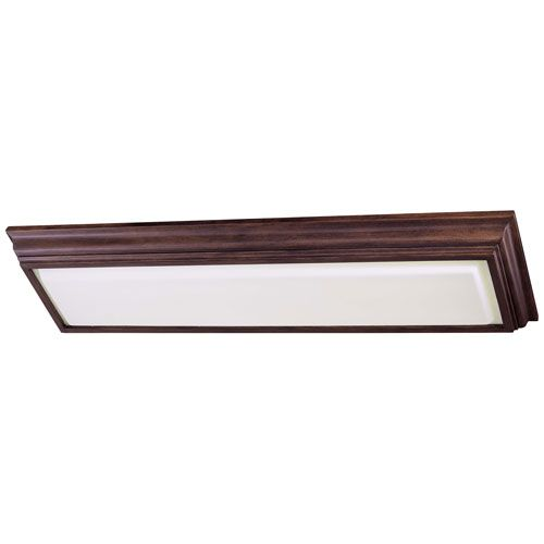fluorescent kitchen lighting. contemporary lighting energy efficient belcaro walnut twolight fluorescent kitchen light and lighting