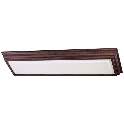 Energy Efficient Belcaro Walnut Two Light Fluorescent Kitchen Light