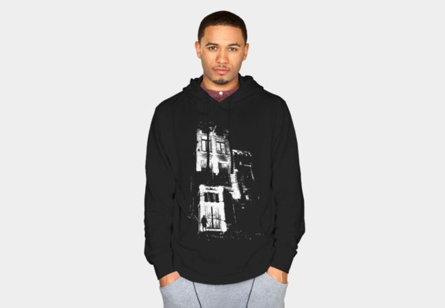 The door is open and the lights are on Sweatshirt - Design By Humans