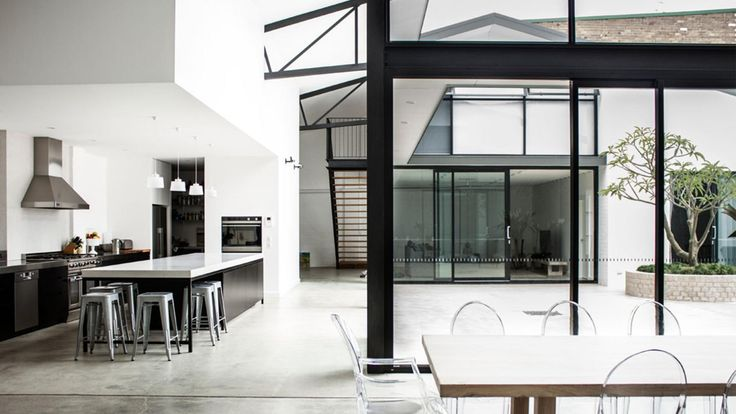 Black-frame windows & doors: getting them right.