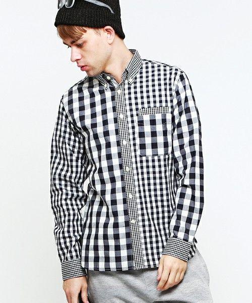 BEAMS LIGHTS(Men's)の【予約】BEAMS LIGHTS / クレイジーギンガムチェックシャツです。こちらの商品はBEAMS Online Shopにて通販購入可能です。