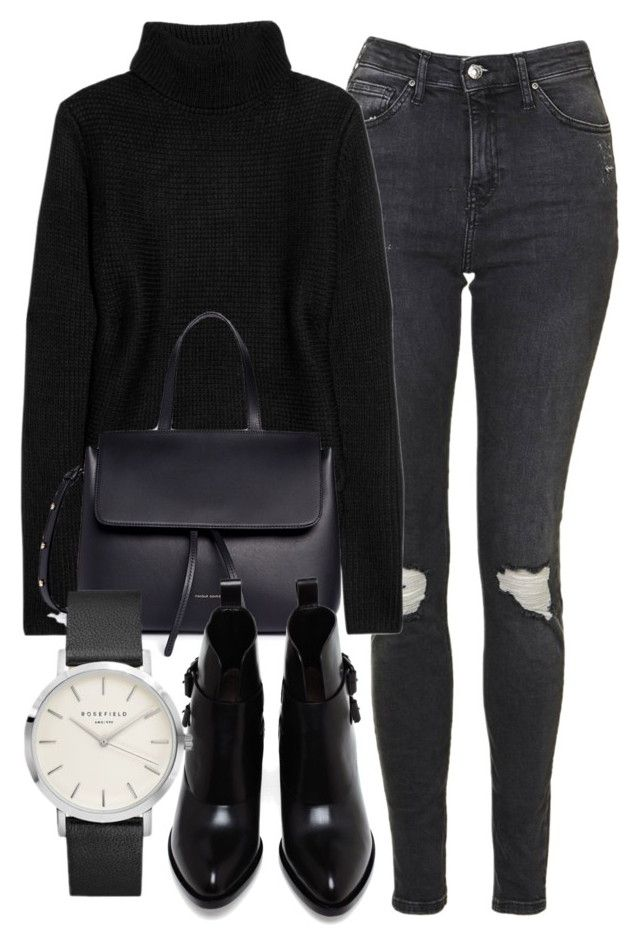 """""""Untitled #6376"""" by laurenmboot ❤ liked on Polyvore featuring Topshop, T By Alexander Wang, Mansur Gavriel and Alexander Wang"""