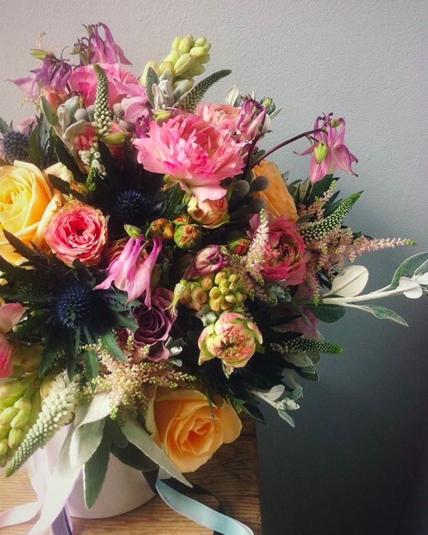 may and june wedding flowers Incredible texture and colours from Swallows and Damsons Flowers Sheffield