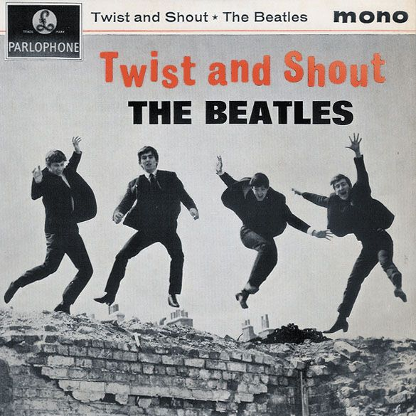 Taken on this single roll of film was the Jumping Shot, the shot which John Lennon and Tony Barrow chose for the cover of the Beatles EP album ' Twist and Shout'. Description from wogew.blogspot.co.uk. I searched for this on bing.com/images