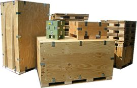 Produce metal parts for this crate in our factory