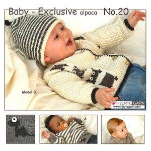 Baby katalog 20, Exclusive alpaca fra Hjertegarn