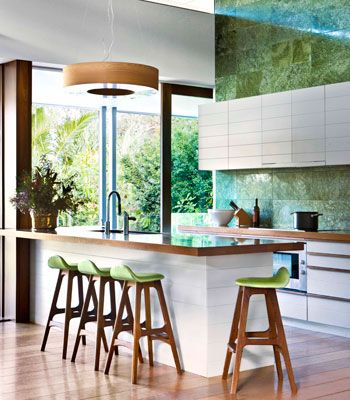 Modern Kitchen, Stone Counter, Stone Bench Top, High Ceilings, Timber Floors, White Kitchen Timber Kitchen, Apartment Kitchen, Kitchen Renovation, Black Kitchen, Eco Kitchen, Green Kitchen