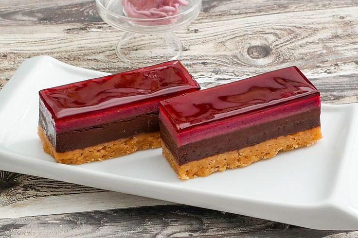 Schokoladen Cassis Tarte - Tarte al Cioccolato e Cassis
