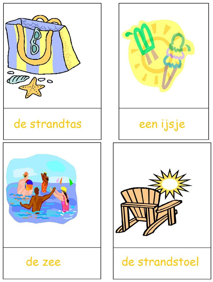 * Woordkaarten met lidwoorden! 2-3
