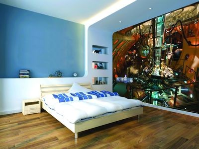 dr who wallpaer wwwdoctorwhogearcoukimageswallpaperroomtardis - Dr Who Bedroom Ideas