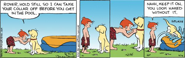 Red and Rover Comic Strip, August 12, 2015 on GoComics.com