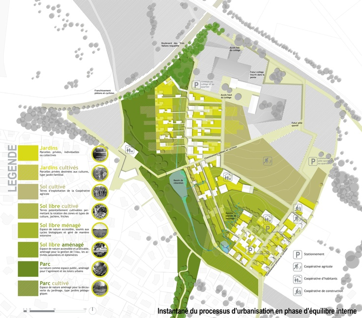 17 best images about 01 plan masse on pinterest white trees agriculture and urban - Exemple plan de masse ...