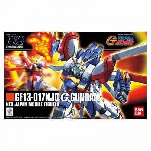 """Bandai Hobby HGFC #110 G GUNDAM """"Mobile Fighter G Gundam"""" HG 1/144 Model Kit"""