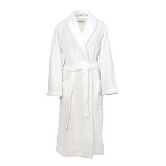 The luxurious and beautiful white bathrobe Torekov from Pellevävare is a perfect mother's day gift that guarantees a smile! Also available in other colors.