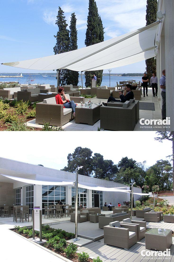 Slnečné plachty - tienenia na záhrady a terasy, reštauračné terasy či oddychové plochy k bazénom prinášajú tieň, po akom ste vždy túžili.
