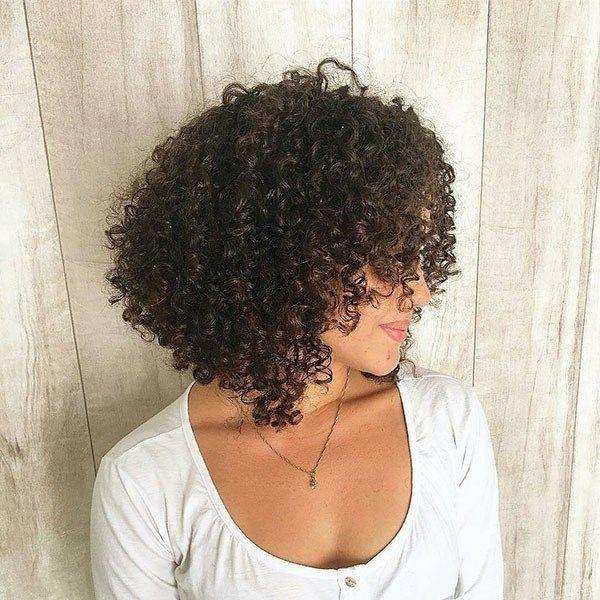 Best Short Curly Hair Ideas in 2019