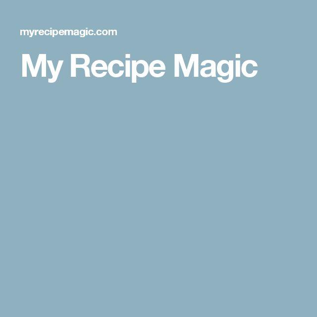 My Recipe Magic