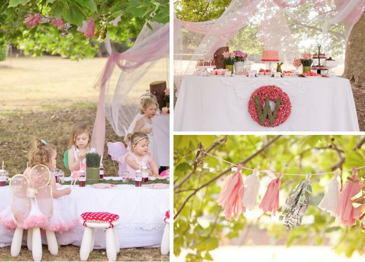 images about Fairy Birthday Party Ideas on Pinterest  Butterfly party ...